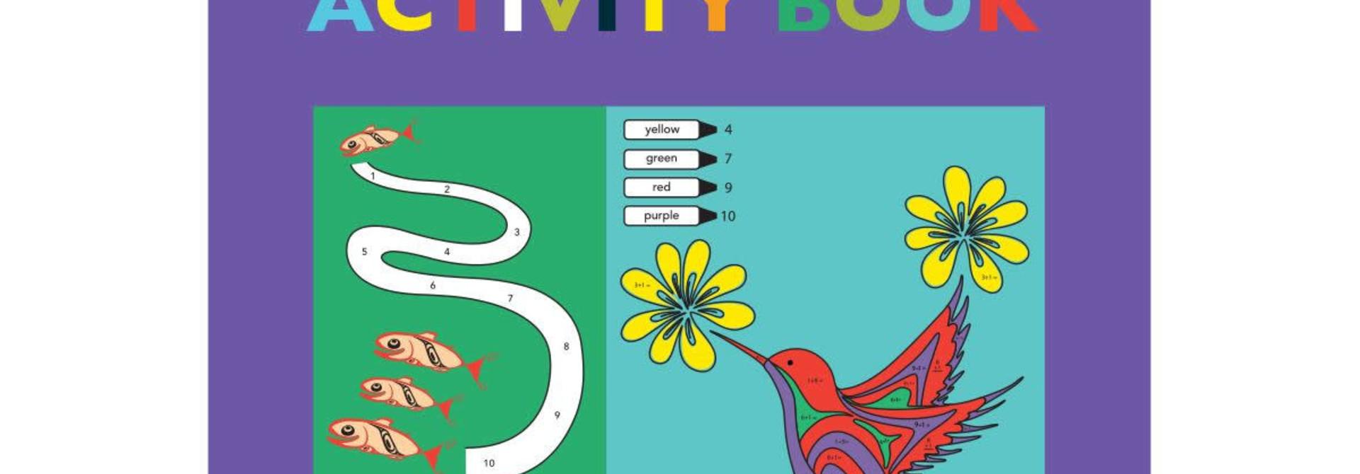 Pacific Northwest Indigenous Art Book- Activity Book