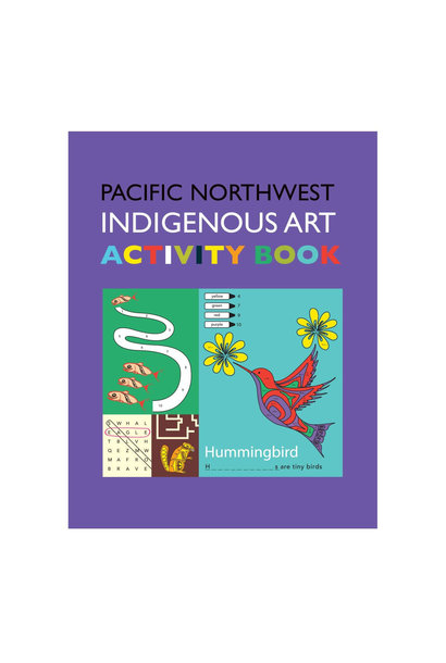 Pacific Northwest Indigenous Art Book- Activity Book