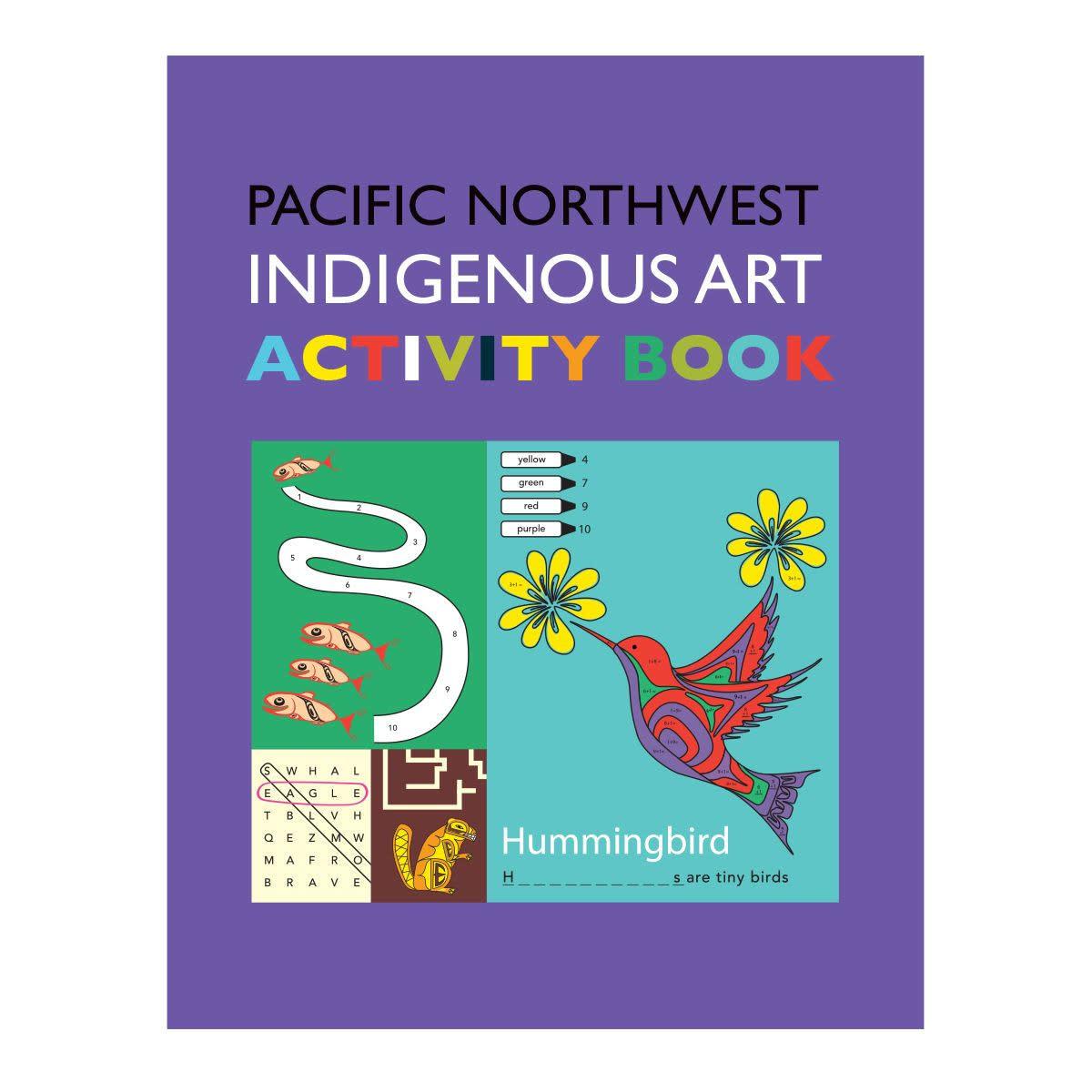 Pacific Northwest Indigenous Art Book- Activity Book-1
