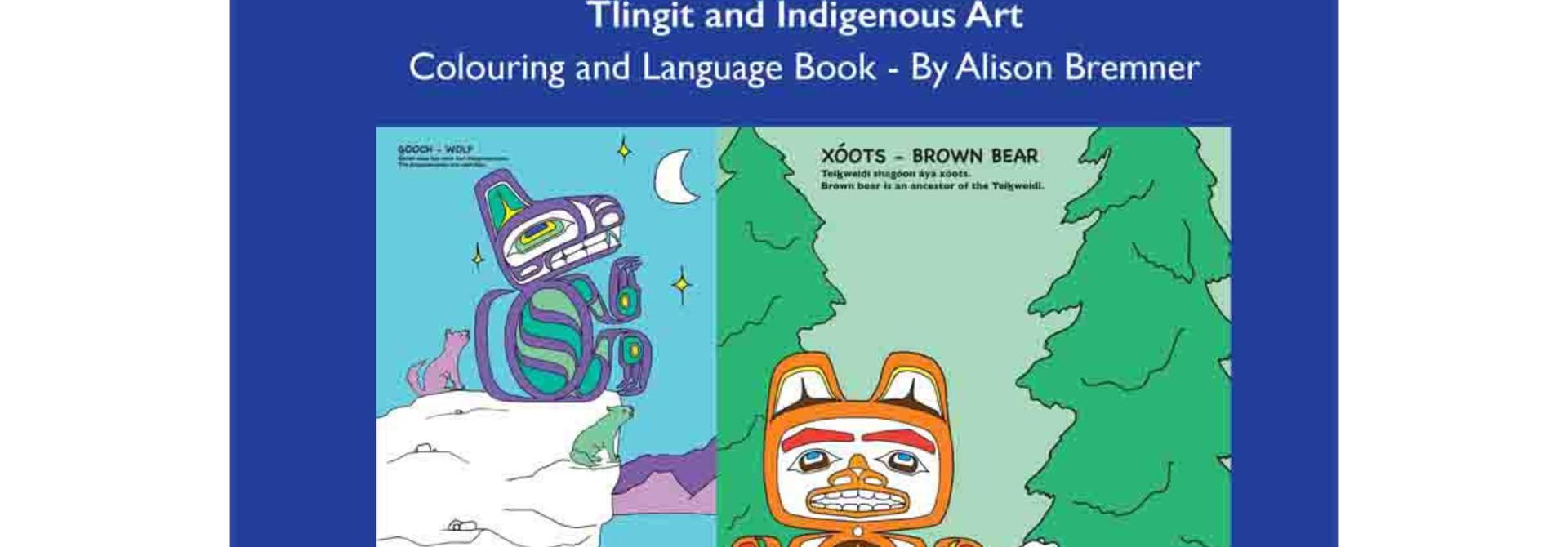 Tlingit Animals-Colouring ad Language Book