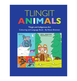 Tlingit Animals-Colouring ad Language Book