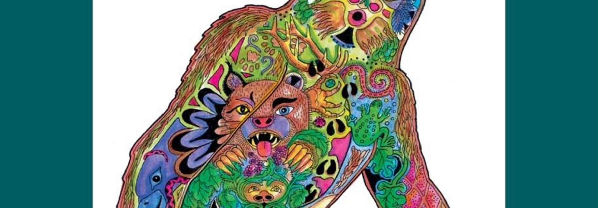 72 Piece Puzzle - Sasquatch by Sue Coccia