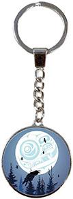 Glass Keychain-3