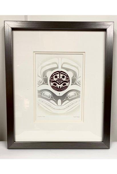 Framed Art Card- Mother Bear- Todd Baker
