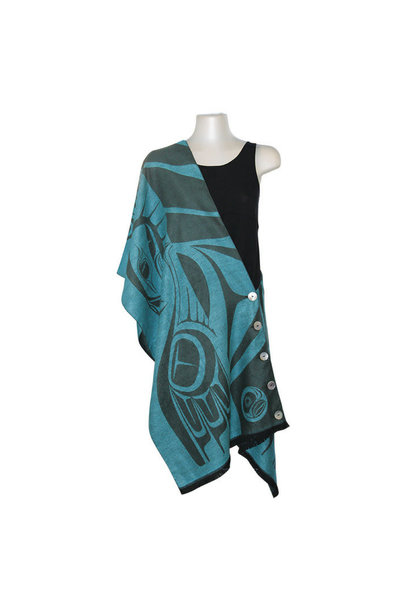 Button Shawl -Eagle by Paul Windsor