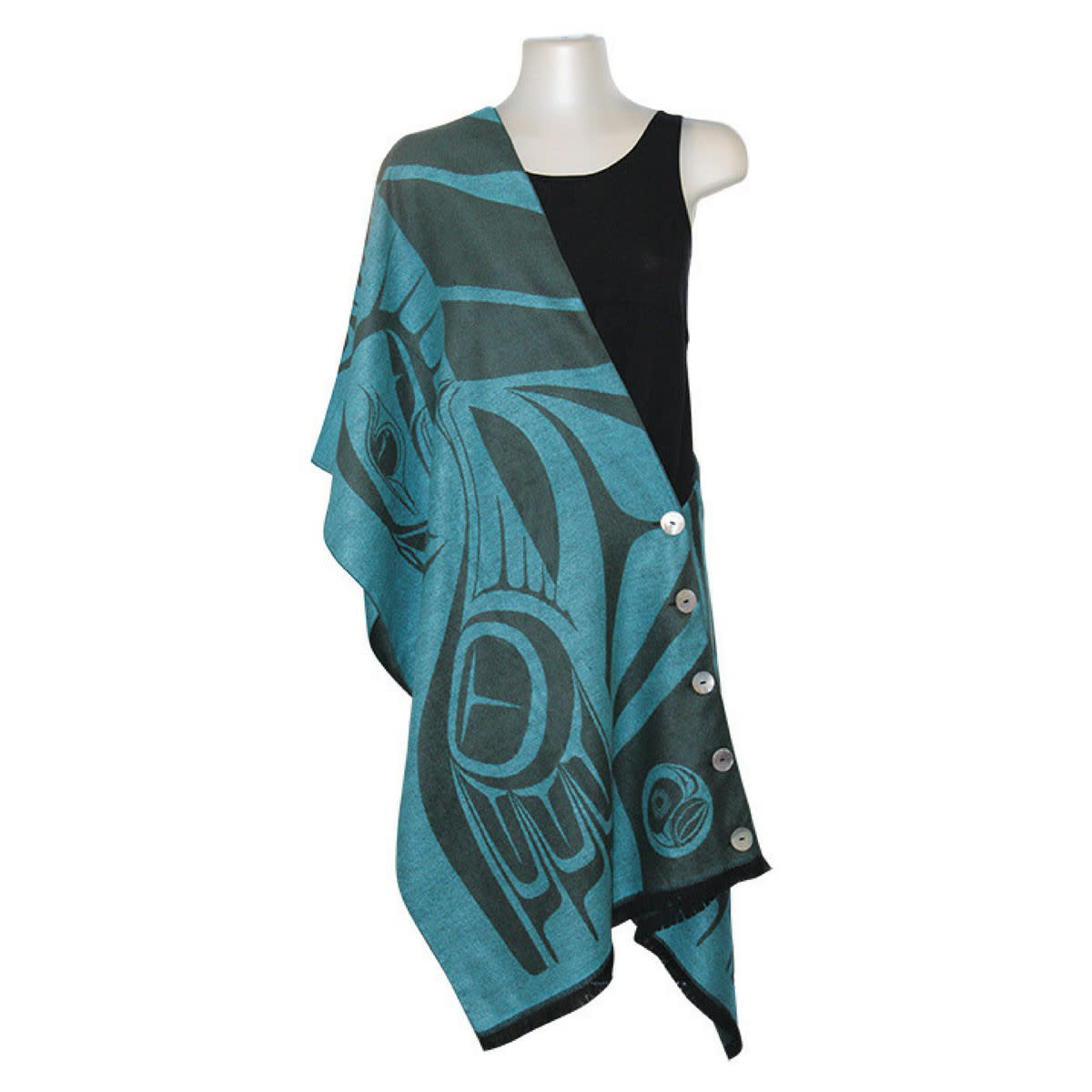 Button Shawl -Eagle by Paul Windsor-1