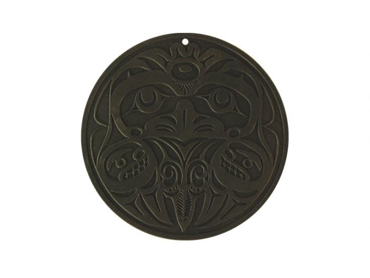 Round Silicone Trivet - Eagle by Bill Helin-3
