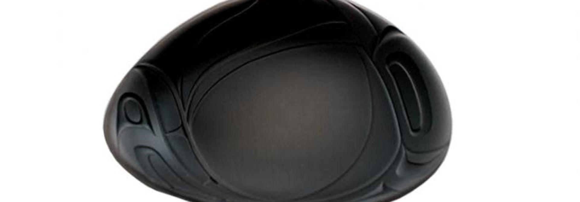 Small  Namwayut Free Form Bowl - Black by Corrine Hunt