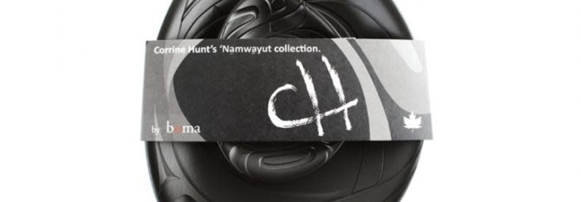 Namwayut Free Form Bowl Set - Black by Corrine Hunt