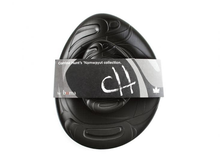Namwayut Free Form Bowl Set - Black by Corrine Hunt-1