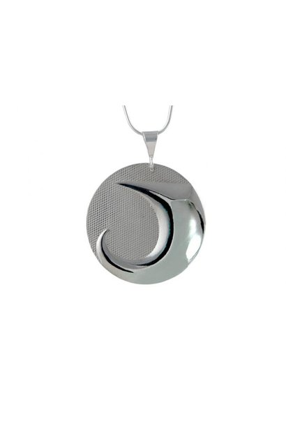 Silver Pewter Pendant - Land by Corrine Hunt