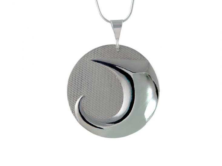 Silver Pewter Pendant - Land by Corrine Hunt-1