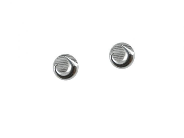 Silver Pewter Earrings - Land by Corrine Hunt-1