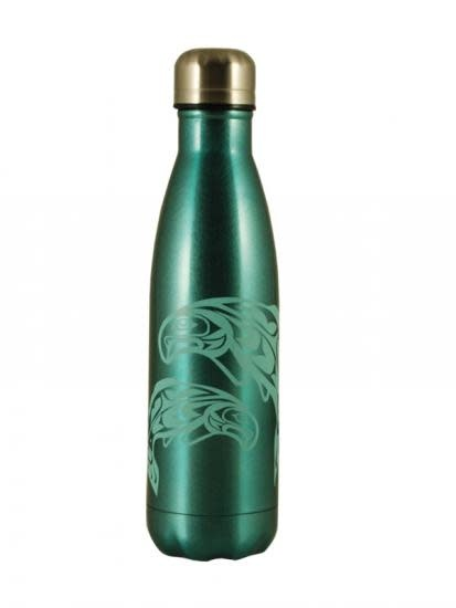 Insulated Water Bottle - Salmon by Anthony Joseph-1