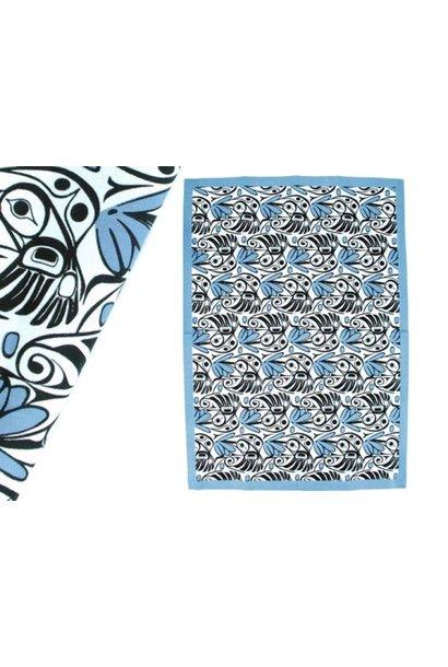 Allover Tea Towel - Hummingbird by Bill Helin