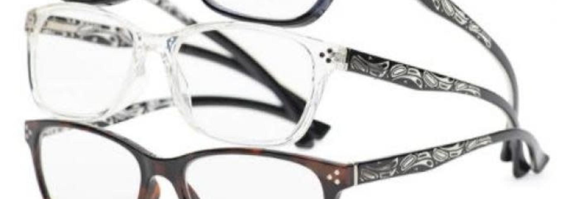 Chelsea Raven Reading Glasses by Corrine Hunt