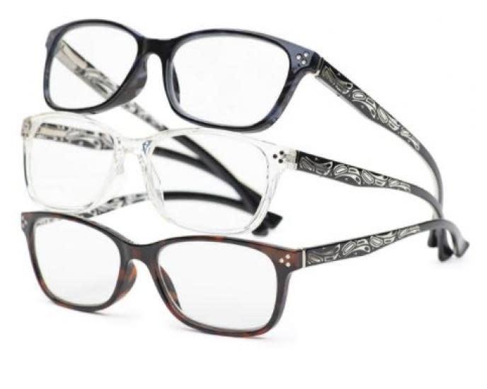 Chelsea Raven Reading Glasses by Corrine Hunt-1