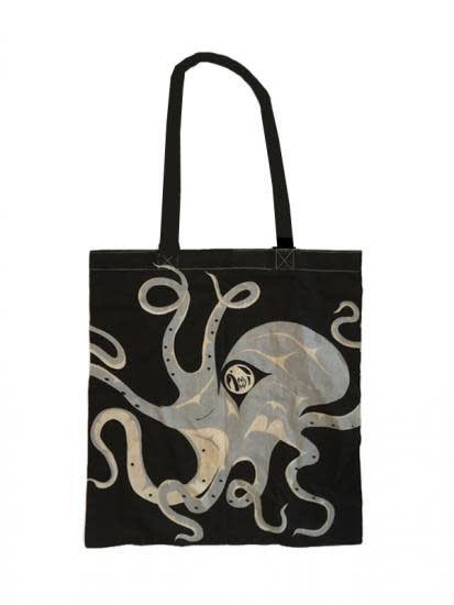 Cotton shopping bag - Octopus by Andrew Williams-1