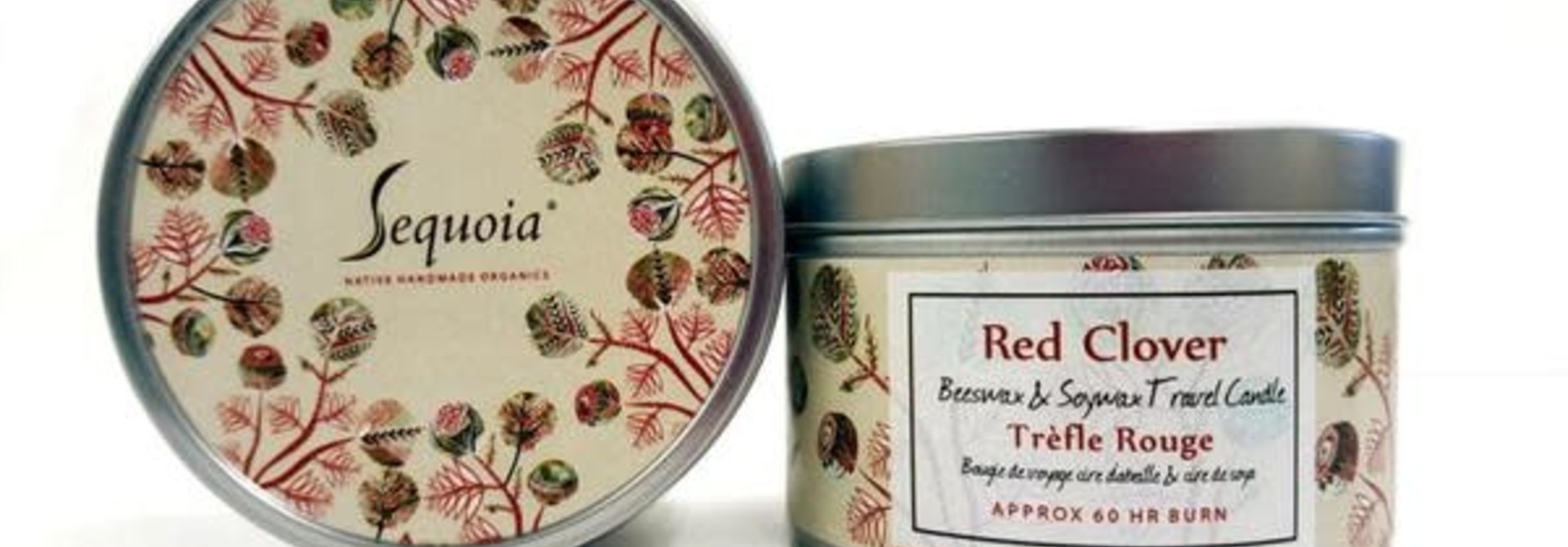 Sequoia 60 hour Candle - Red Clover