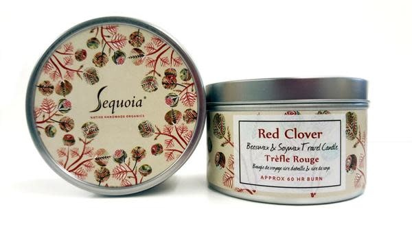 Sequoia 60 hour Candle - Red Clover-1