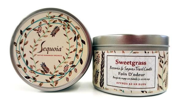 Sequoia 60 Hour Candle - Sweetgrass-1