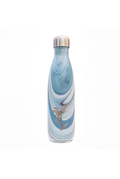 Insulated Water bottle Humpback Whale- Gordon White