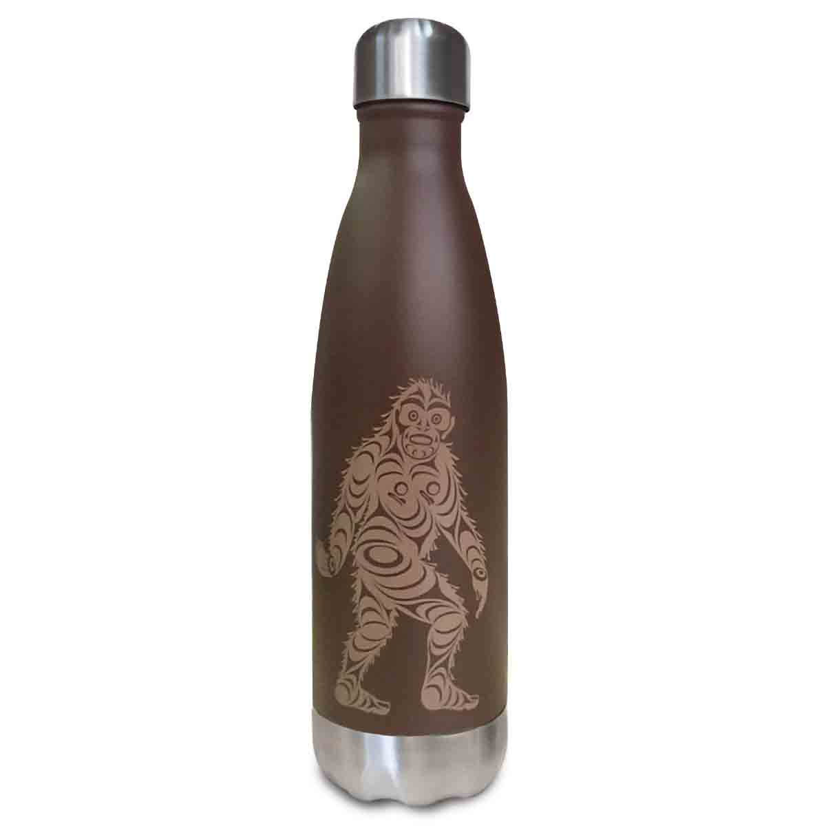 Insulated Bottle - Sasquatch by Francis Horne Sr.-1