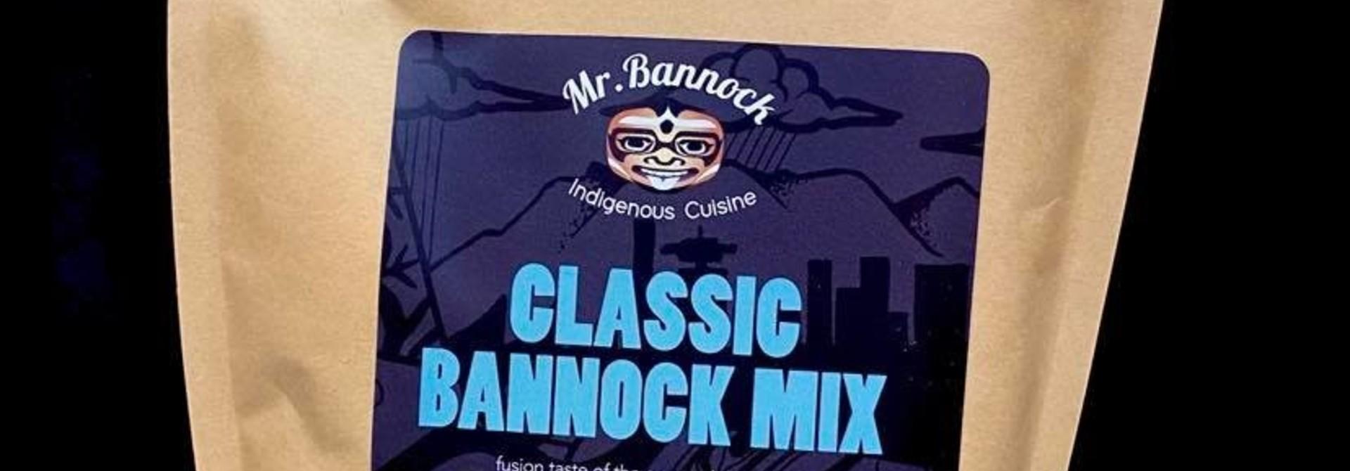 Mr. Bannock classic Bannock Mix 900g pkg