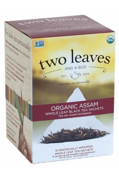 Two Leaves and bud -Organic Assam whole leaf Black Tea
