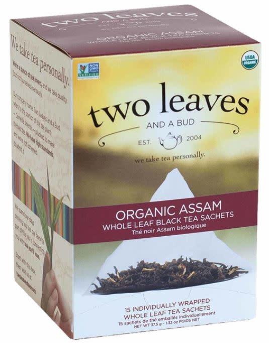 Two Leaves and bud -Organic Assam whole leaf Black Tea-1
