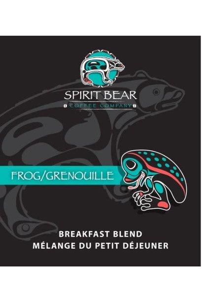 Spirit Bear Coffee - Sample Pouch 70g Frog Breakfast Blend