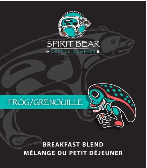 Spirit Bear Coffee - Sample Pouch 70g Frog Breakfast Blend-1