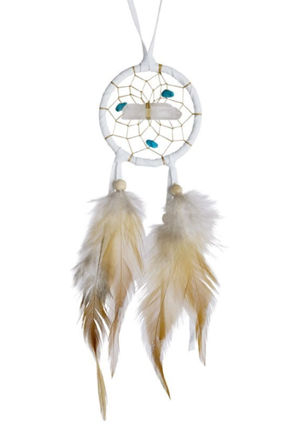 "2"" Dream Catcher White"