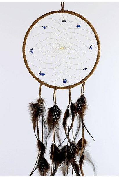 "6"" Brown Dream Catcher"