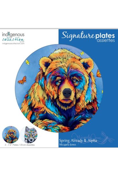 Decorative Art Plated-Spring Already/Alpha-Miqaela Jones