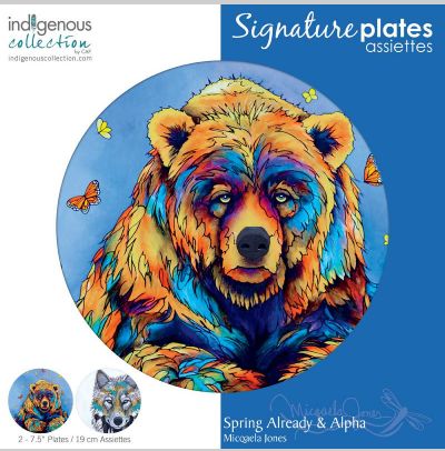 Decorative Art Plated-Spring Already/Alpha-Miqaela Jones-1