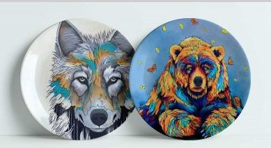 Decorative Art Plated-Spring Already/Alpha-Miqaela Jones-2