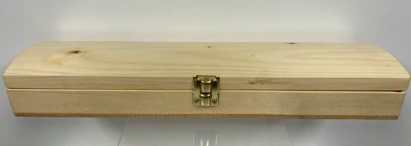 Hand Crafted Feather Box - Pine-1