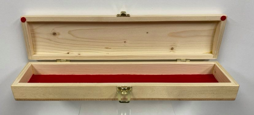 Hand Crafted Feather Box - Pine-2