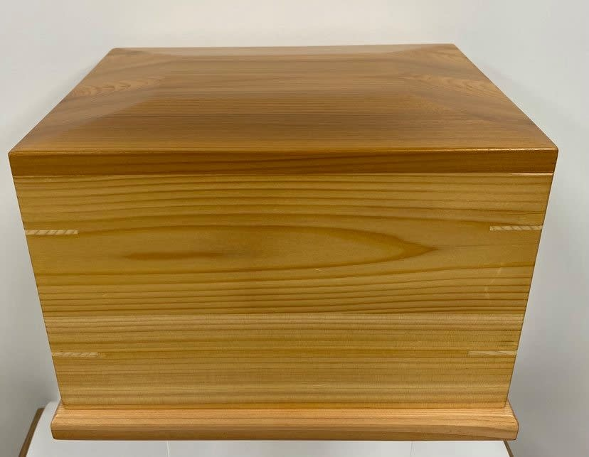 Urn box - Red Cedar-1