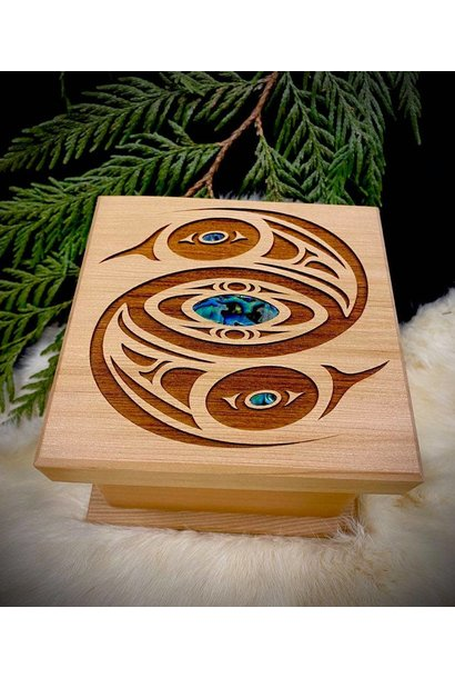 Bentwood Box  -  Eagle