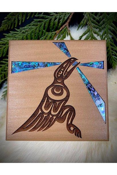 Bentwood Box - Raven