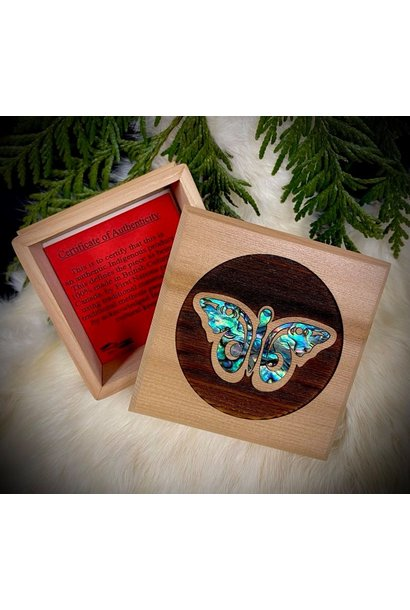 Bentwood Box  - Butterfly