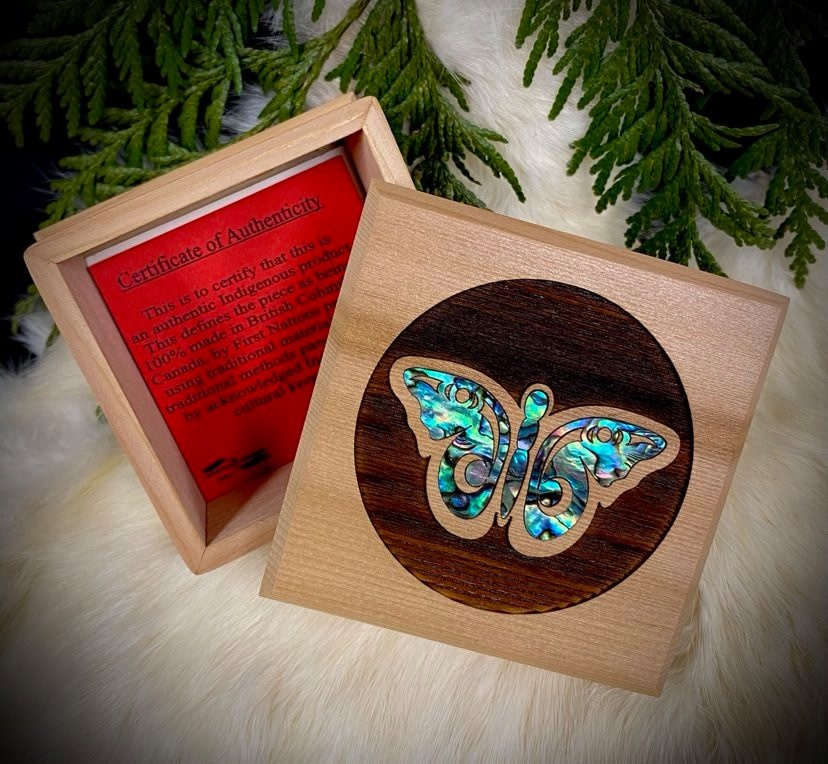 Bentwood Box  - Butterfly-1