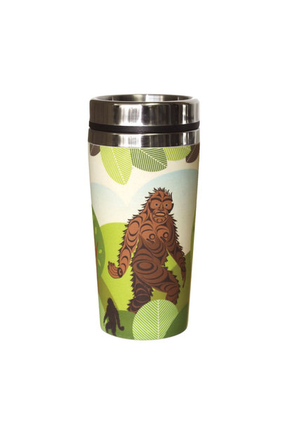 Bamboo Travel Mug - Sasquatch by Francis Horne Sr.