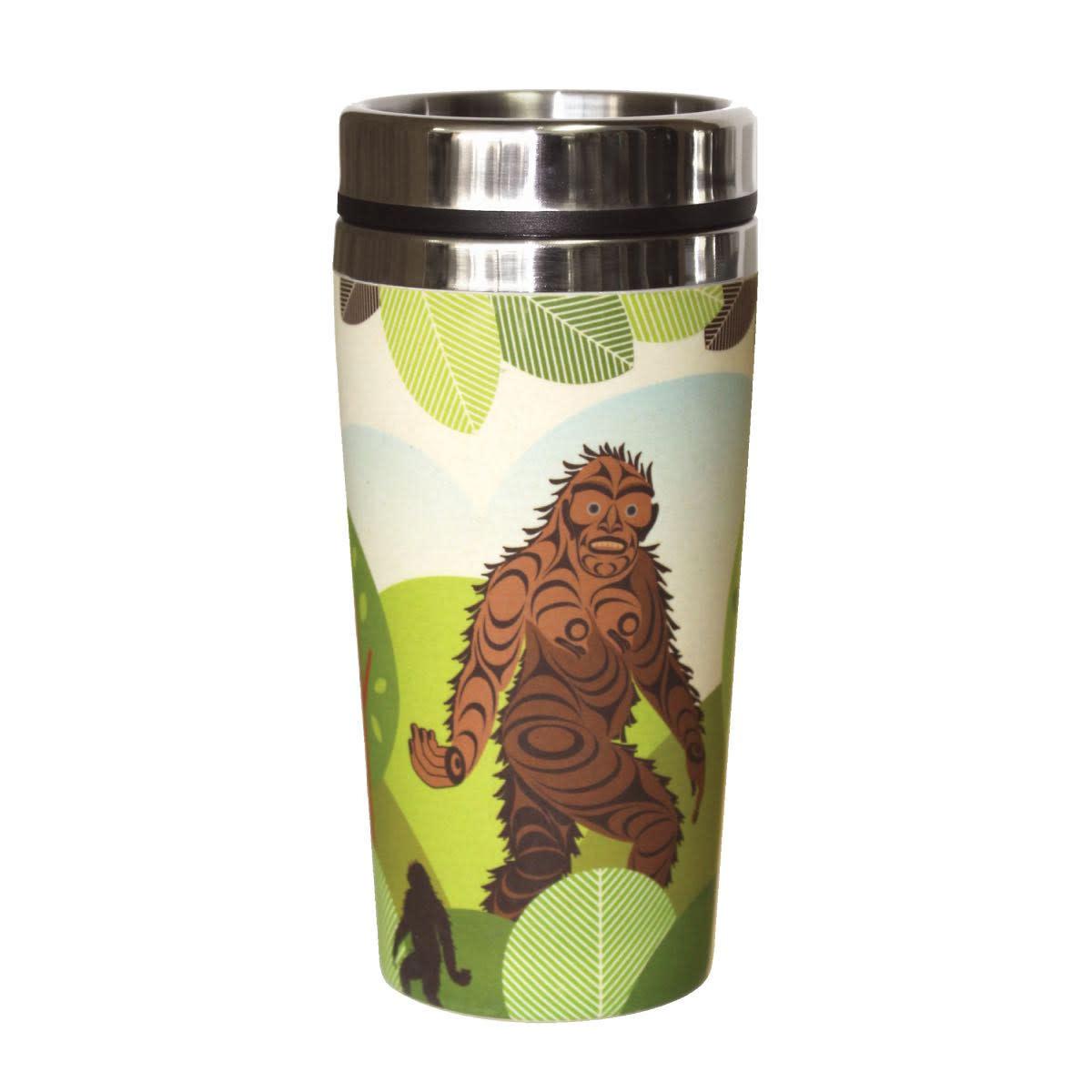 Bamboo Travel Mug - Sasquatch by Francis Horne Sr.-1
