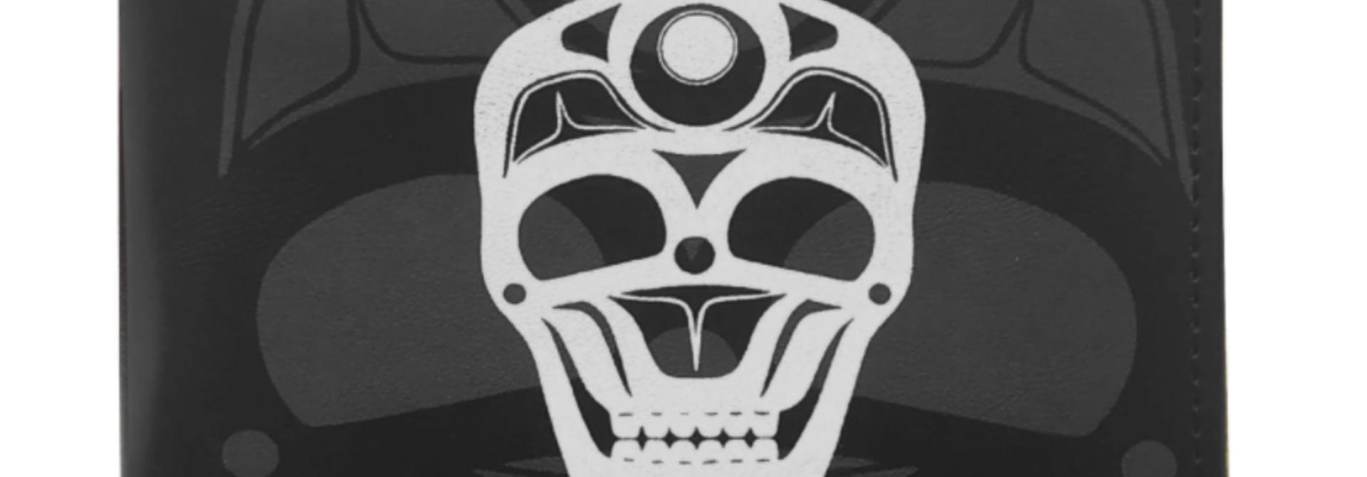 Men's Skull Wallet - by James Hohnson