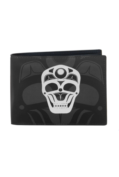 Men's Skull Wallet - by James Hohnson
