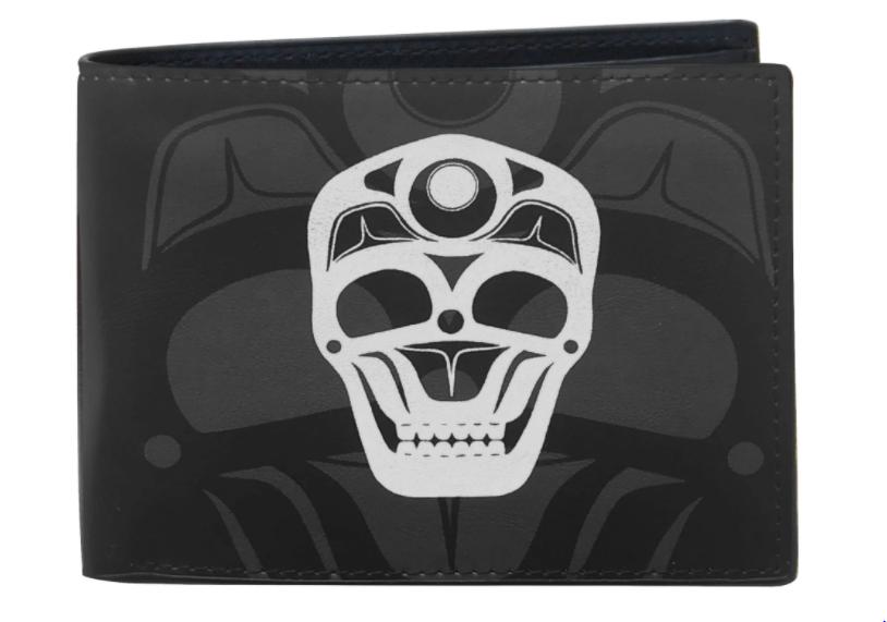 Men's Skull Wallet - by James Hohnson-1