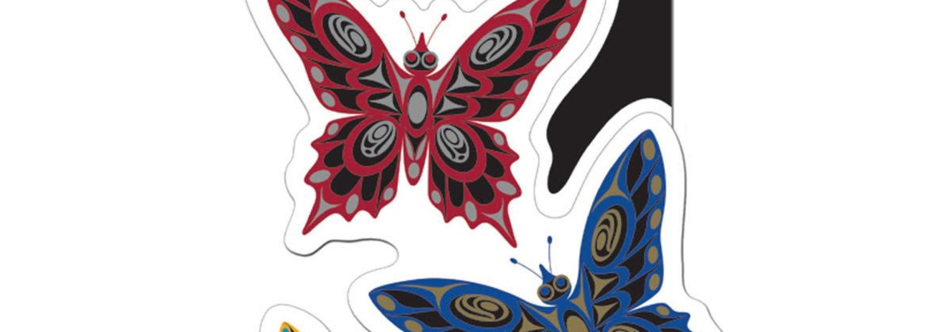 Decal-Butterflies by Joe Wilson-Sxwaset